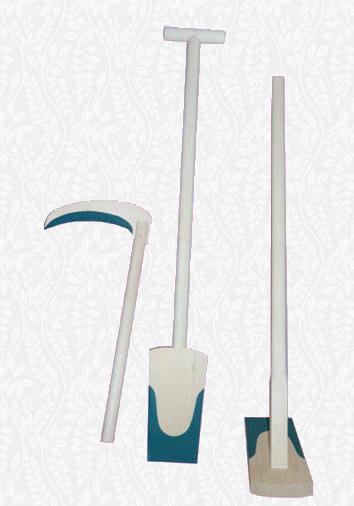 地鎮祭用品 スプルス 鋤鍬鎌セット